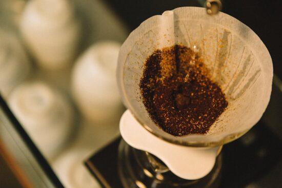 V60 coffee brewer