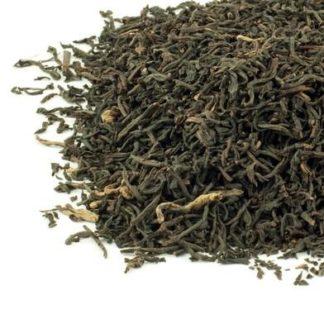 Decaf tea leaves